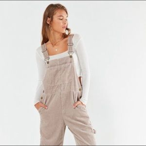 BDG Relaxed Fit Corduroy Overalls